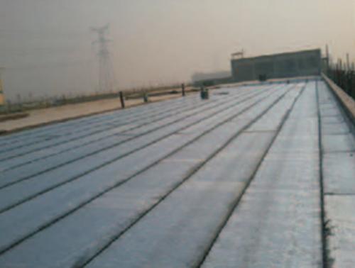 屋面防水卷材铺贴